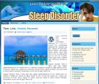 Sleep Disorder Wordpress Theme & WebSite Template